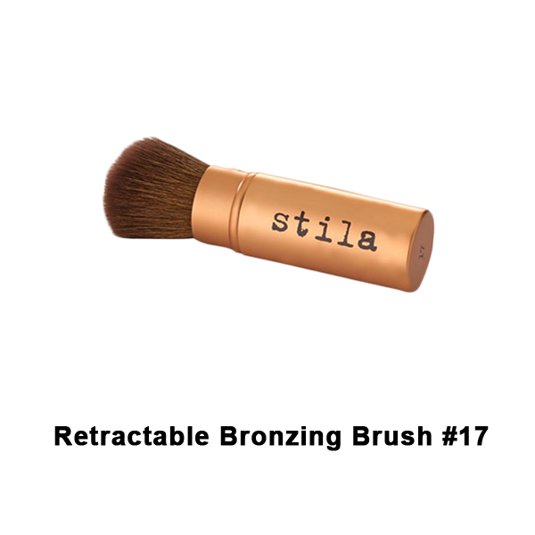 Stila Brushes - #17 Retractable Bronzing Brush | Camera Ready Cosmetics - 13