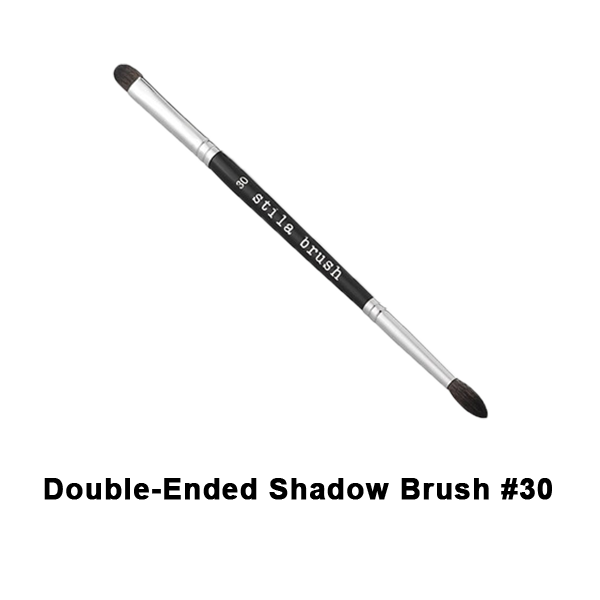 Stila Brushes - #30 Double Ended Shadow Brush | Camera Ready Cosmetics - 19
