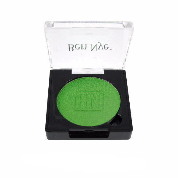 Ben Nye Lumiere Grand Colour Pressed Eye Shadow - Chartreuse (LU-8) | Camera Ready Cosmetics - 7