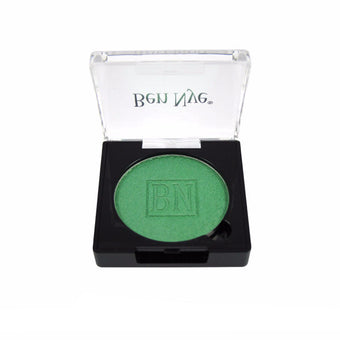 Ben Nye Lumiere Grand Colour Pressed Eye Shadow - Mermaid Green (LU-9) | Camera Ready Cosmetics - 16