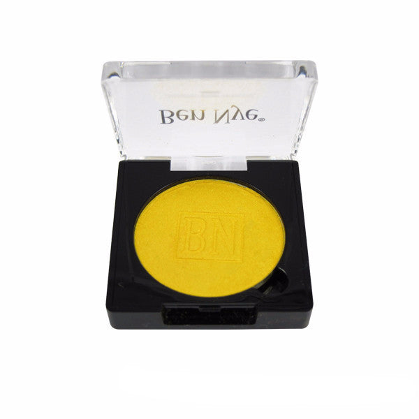Ben Nye Lumiere Grand Colour Pressed Eye Shadow - Sun Yellow (LU-6) | Camera Ready Cosmetics - 22