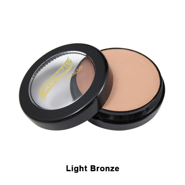 Graftobian Creme Foundation - Theatrical - Light Bronze 88098 | Camera Ready Cosmetics - 19