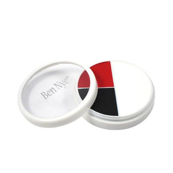 Ben Nye Professional Wheel - Red, Black & White (RB) | Camera Ready Cosmetics - 14