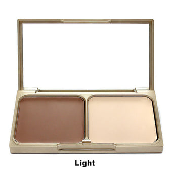 Stila Shape & Shade Custom Contour Duo - Light | Camera Ready Cosmetics - 2