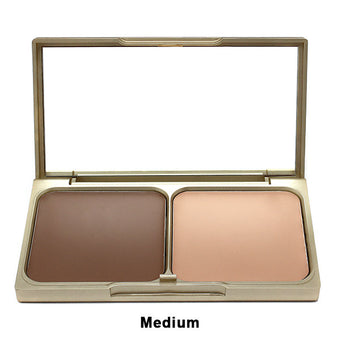 Stila Shape & Shade Custom Contour Duo - Medium | Camera Ready Cosmetics - 4