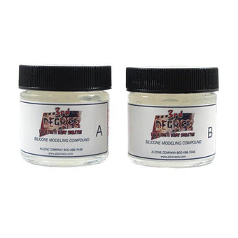 3rd Degree Silicone Molding Compound - Clear / 2oz. | Camera Ready Cosmetics - 4