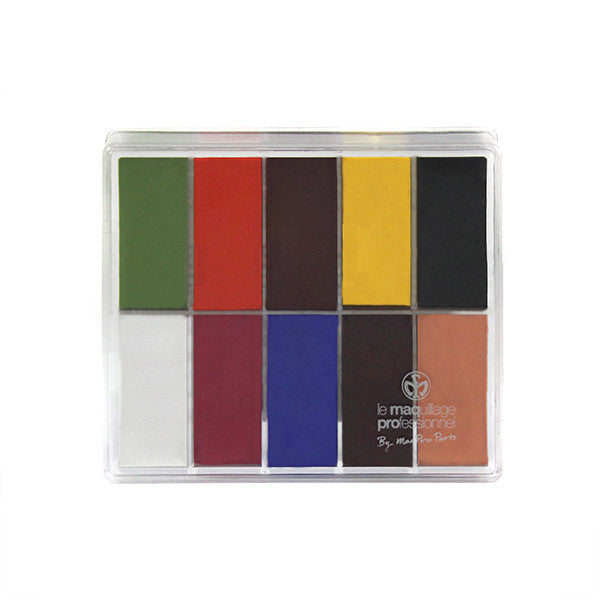 Exclusive MaqPro Fard Creme Flashy Palette 1 - .5oz/15ml Slim Sample | Camera Ready Cosmetics - 2