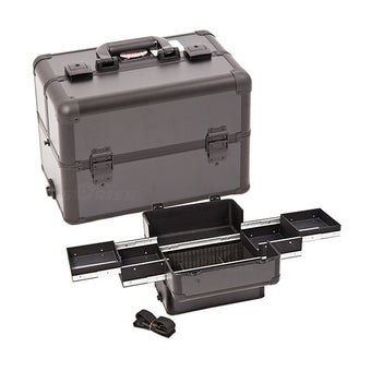 JUST CASE PRO MAKEUP CASE (USA ONLY) - All Black (E3301PPAB) | Camera Ready Cosmetics - 2