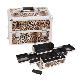 JUST CASE PRO MAKEUP CASE (USA ONLY) - Leopard (E3301LPBR) | Camera Ready Cosmetics - 9