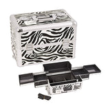 JUST CASE PRO MAKEUP CASE (USA ONLY) - Zebra White (E3301ZBWH) | Camera Ready Cosmetics - 14