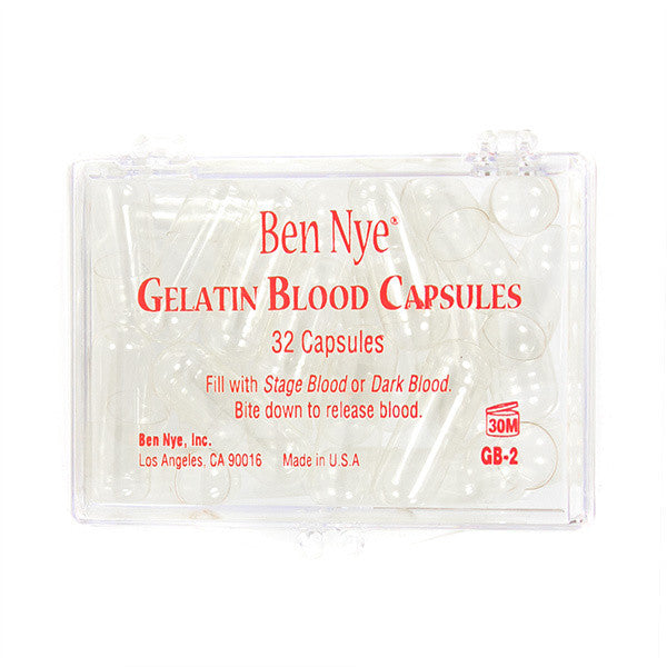Ben Nye Gelatin Blood Capsules (Empty) -  | Camera Ready Cosmetics - 1