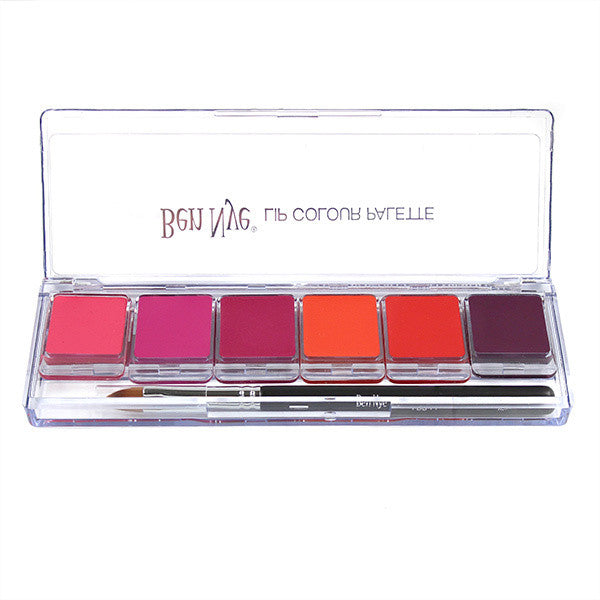 Ben Nye California Sunset Lip Palette -  | Camera Ready Cosmetics - 1