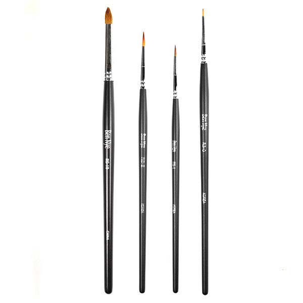 Ben Nye Makeup Brush - Round -  | Camera Ready Cosmetics - 1