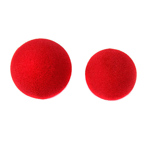 Ben Nye Red Foam Nose -  | Camera Ready Cosmetics - 1
