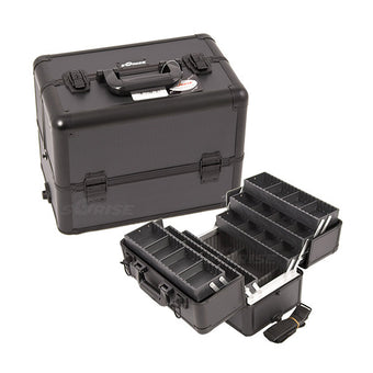 JUST CASE - PRO MAKEUP CASE (USA ONLY) - All Black Dot (E3304DTAB) | Camera Ready Cosmetics - 8