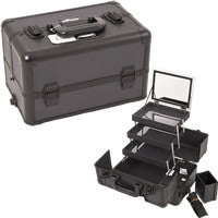 JUST CASE - PRO MAKEUP CASE E3305 (USA ONLY) - All Black Dot (E3305DTAB) | Camera Ready Cosmetics - 8