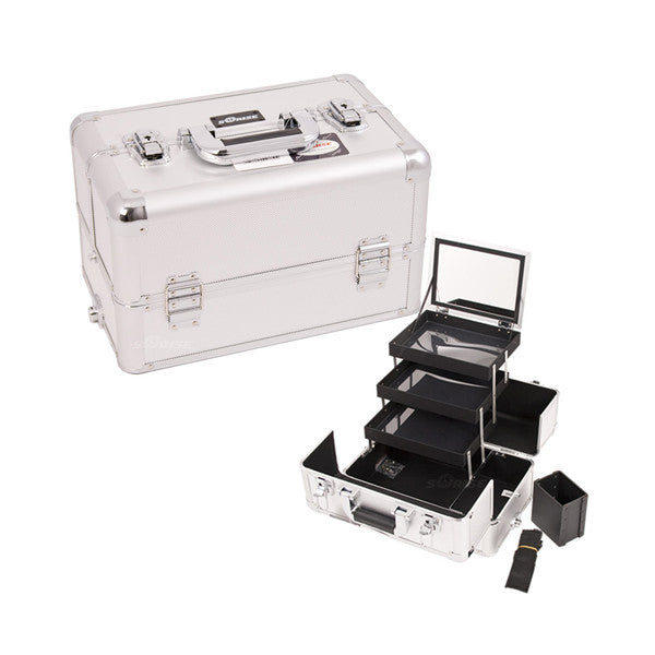 JUST CASE - PRO MAKEUP CASE E3305 (USA ONLY) - Silver Dot (E3305DTSL) | Camera Ready Cosmetics - 13