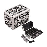 JUST CASE PRO MAKEUP CASE E3307 (USA Only) - Zebra White (E3307ZBWH) | Camera Ready Cosmetics - 8