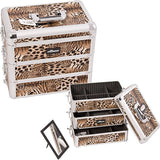 JUST CASE - PRO MAKEUP CASE E3303 E3303 (USA ONLY) - Leopard Brown (E3303LPBR) | Camera Ready Cosmetics - 9