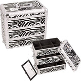 JUST CASE - PRO MAKEUP CASE E3303 E3303 (USA ONLY) - Zebra White (E3303ZBWH) | Camera Ready Cosmetics - 14