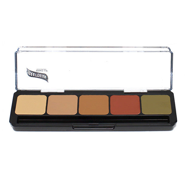 Graftobian Hi-Def Glamour Creme Corrector Palette -  | Camera Ready Cosmetics - 7