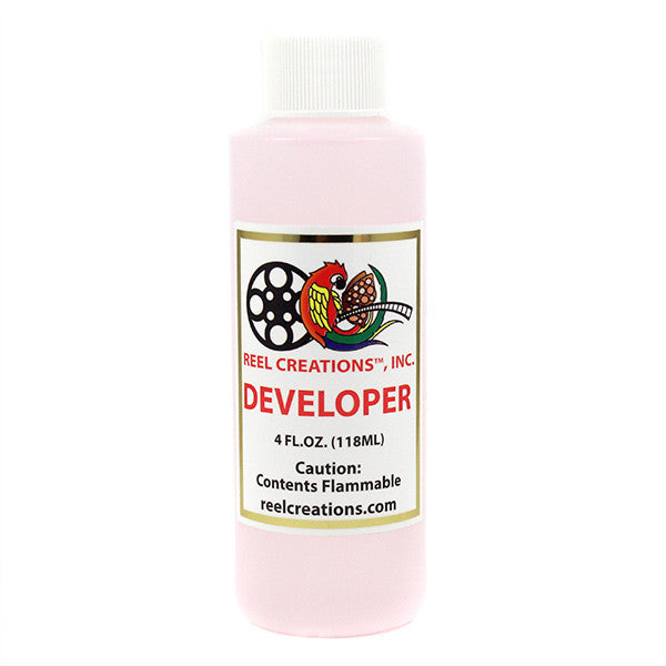 Reel Creations Reel Developer (USA Only) - 4oz Bottle | Camera Ready Cosmetics - 4