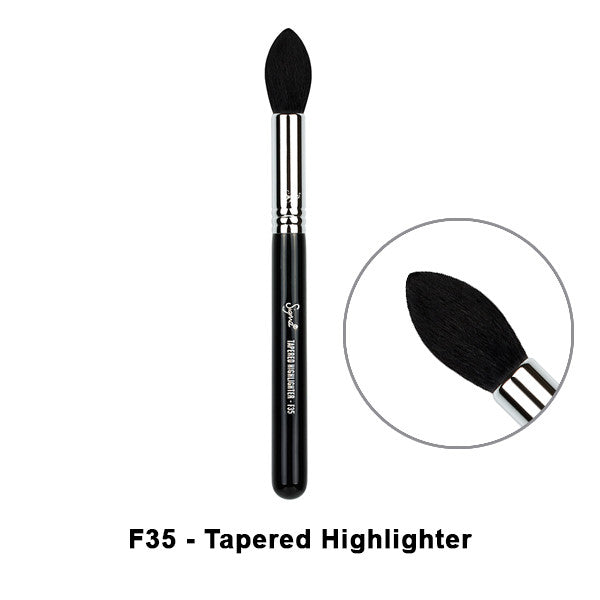 Sigma Brushes for Face - F35 - Tapered Highlighter | Camera Ready Cosmetics - 8