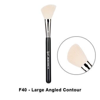Sigma Brushes for Face - F40 - Large Angled Contour | Camera Ready Cosmetics - 9