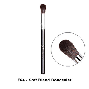 Sigma Brushes for Face - F64 - Soft Blend Conceale | Camera Ready Cosmetics - 10