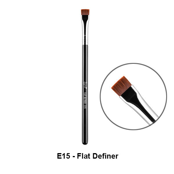 Sigma Brushes for Eyes - E15 - Flat Definer | Camera Ready Cosmetics - 4