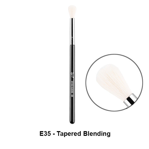 Sigma Brushes for Eyes - E35 - Tapered Blending | Camera Ready Cosmetics - 8