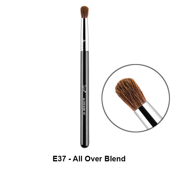 Sigma Brushes for Eyes - E37 - All Over Blend | Camera Ready Cosmetics - 9
