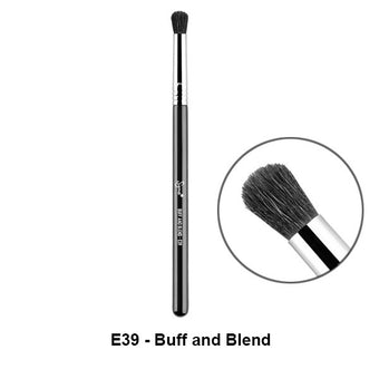 Sigma Brushes for Eyes - E39 - Buff and Blend | Camera Ready Cosmetics - 10