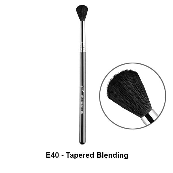 Sigma Brushes for Eyes - E40 - Tapered Blending | Camera Ready Cosmetics - 11