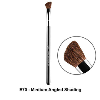 Sigma Brushes for Eyes - E70 - Medium Angled Shading | Camera Ready Cosmetics - 17