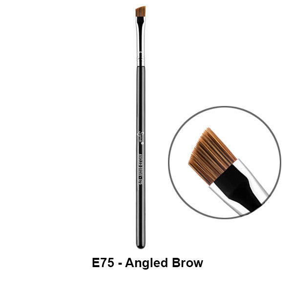Sigma Brushes for Eyes - E75 - Angled Brow | Camera Ready Cosmetics - 18