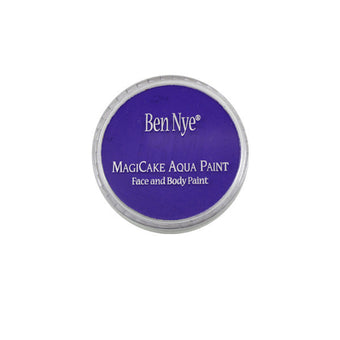 Ben Nye MagiCake Aqua Paint - LARGE (0.77oz-1oz) / Azure Blue | Camera Ready Cosmetics - 46