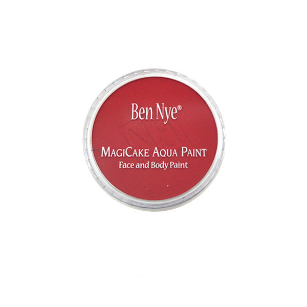 Ben Nye MagiCake Aqua Paint - LARGE (0.77oz-1oz) / Bright Red | Camera Ready Cosmetics - 49
