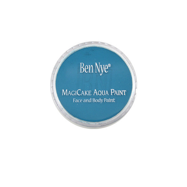 Ben Nye MagiCake Aqua Paint - LARGE (0.77oz-1oz) / Cosmic Blue | Camera Ready Cosmetics - 52