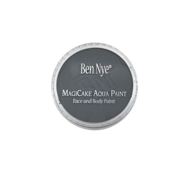 Ben Nye MagiCake Aqua Paint - LARGE (0.77oz-1oz) / Grey | Camera Ready Cosmetics - 54
