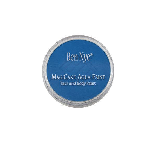 Ben Nye MagiCake Aqua Paint - LARGE (0.77oz-1oz) / Marine Blue | Camera Ready Cosmetics - 58
