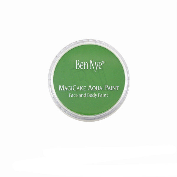 Ben Nye MagiCake Aqua Paint - LARGE (0.77oz-1oz) / Tropical Green | Camera Ready Cosmetics - 61