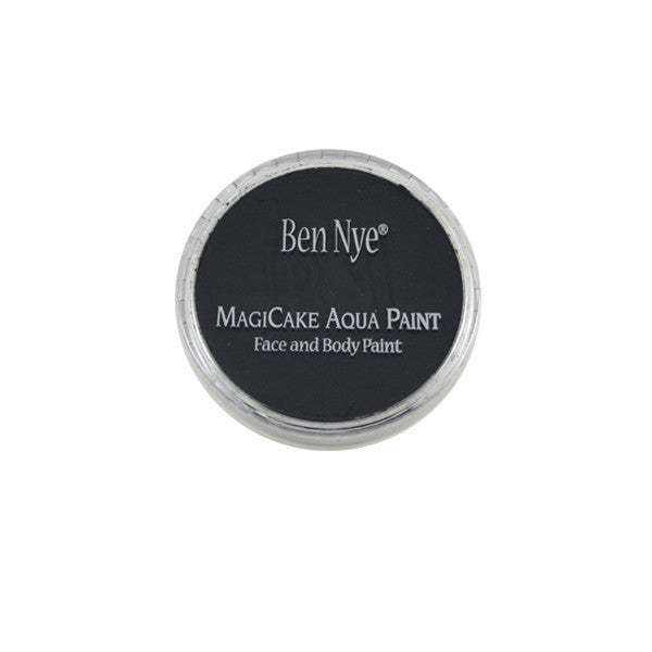 Ben Nye MagiCake Aqua Paint - LARGE (0.77oz-1oz) / Licorice Black | Camera Ready Cosmetics - 56