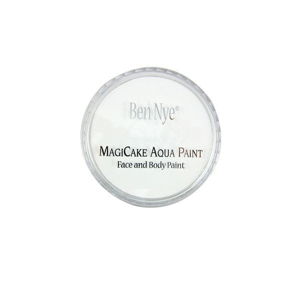 Ben Nye MagiCake Aqua Paint - LARGE (0.77oz-1oz) / Cloud White | Camera Ready Cosmetics - 51