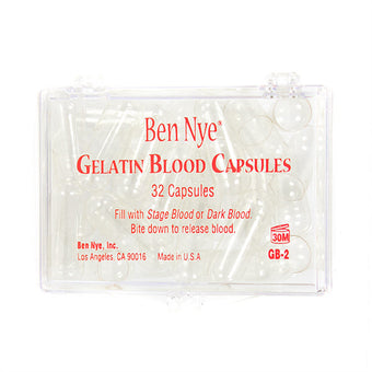 Ben Nye Gelatin Blood Capsules (Empty) - 32 Gelatin Capsules (Empty) - (GB-2) | Camera Ready Cosmetics - 3