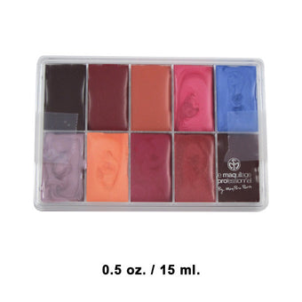 alt Maqpro Lipstick Palette R23 0.5oz./15ml. Slim Sample