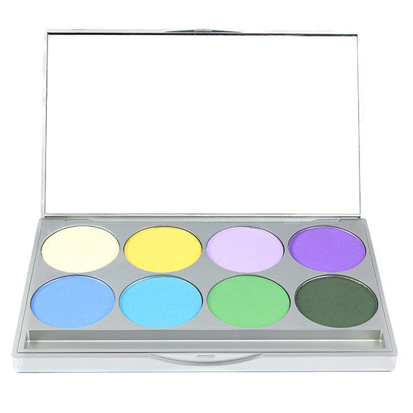 Graftobian Ultrasilk Matte Eye Shadow Palette - Vibrance (30532) | Camera Ready Cosmetics - 4