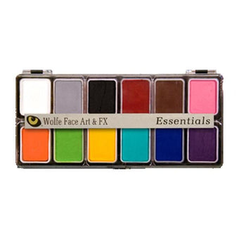 Wolfe FX Hydrocolor Palette - Essential Color Palette / 12-Color | Camera Ready Cosmetics - 4