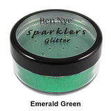 Ben Nye Sparklers Loose Glitter - Emerald Green / Large .5oz/14gm | Camera Ready Cosmetics - 21
