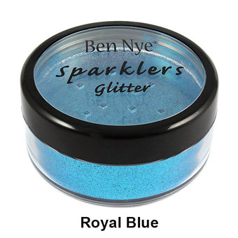 alt Ben Nye Sparklers Loose Glitter Royal Blue / Large .5oz/14gm